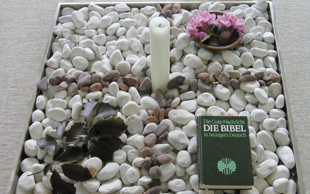 Gebet und Handauflegen, Frühjahr 2005 Rengsdorf
