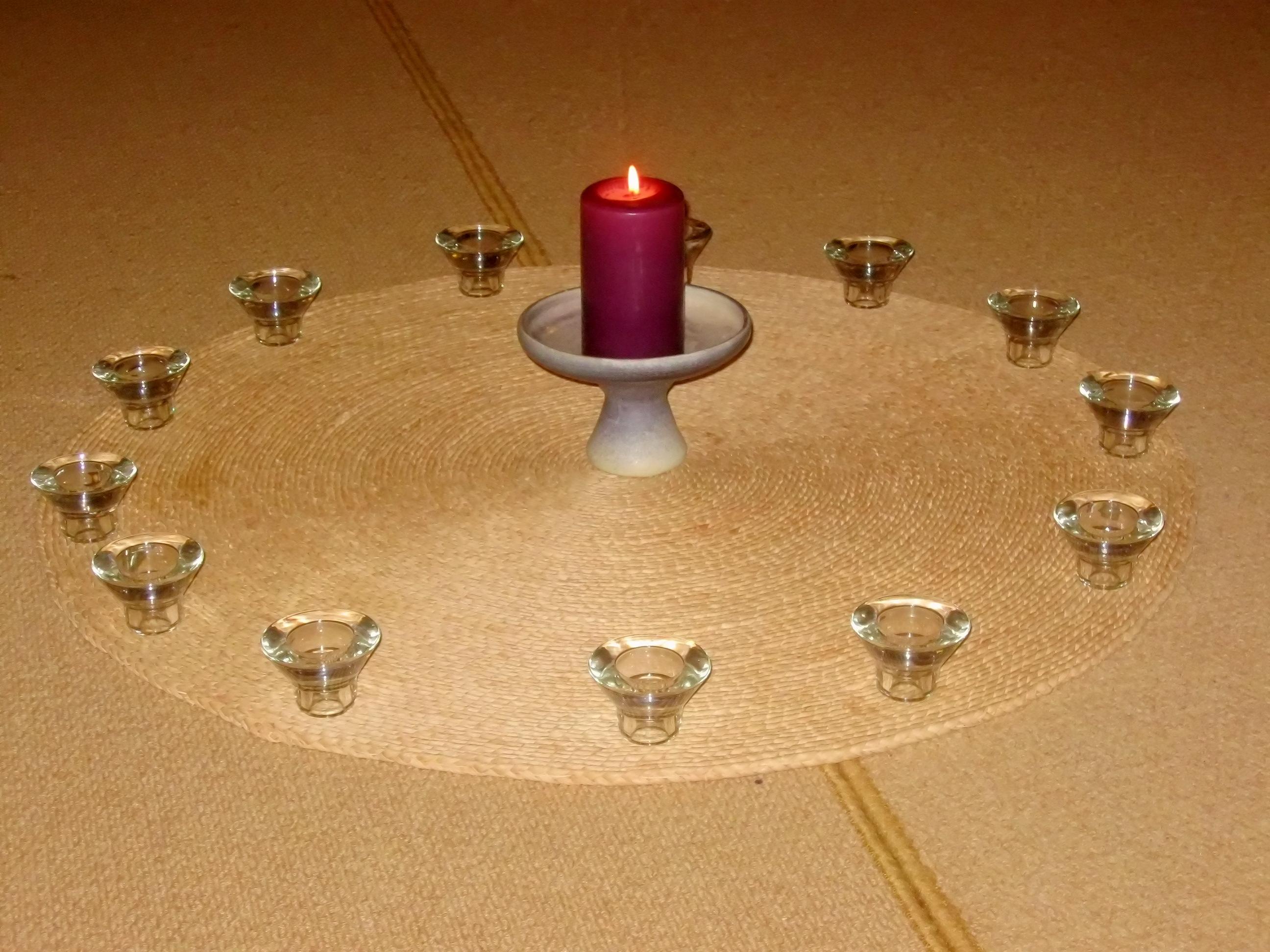 Mitte der Meditationsgruppe Langefeld Immigrath